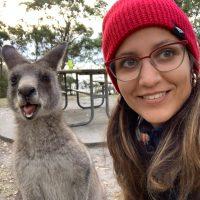DOMENECH, Grisel.la_With kangaroo