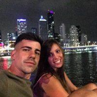 MARTINA y JUAN_Brisbane night